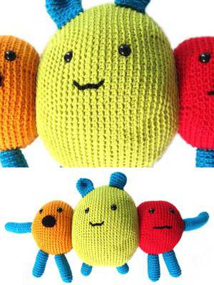 Free Crochet Pattern for a Monster Amigurumi Deek
