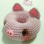 Free Crochet Pattern for a Piggy Donut Amigurumi