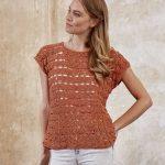 Free Crochet Pattern for a Triple Treble Stitch Shirt