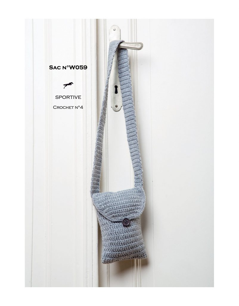Free Crochet Pattern for an Easy Shoulder Bag