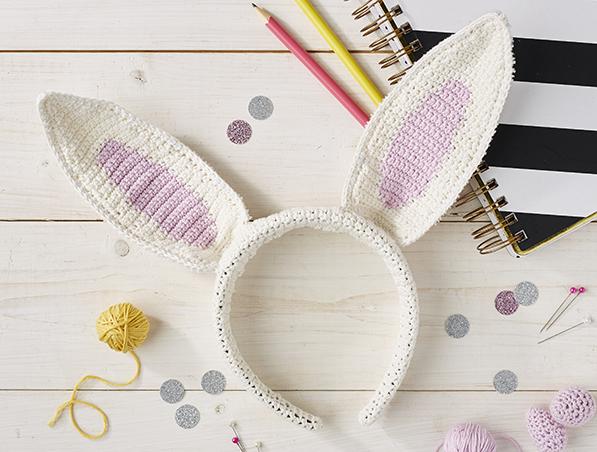 Free Easter Bunny Ears Pattern
