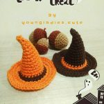 Free Halloween Crochet Pattern for a Witch Hat