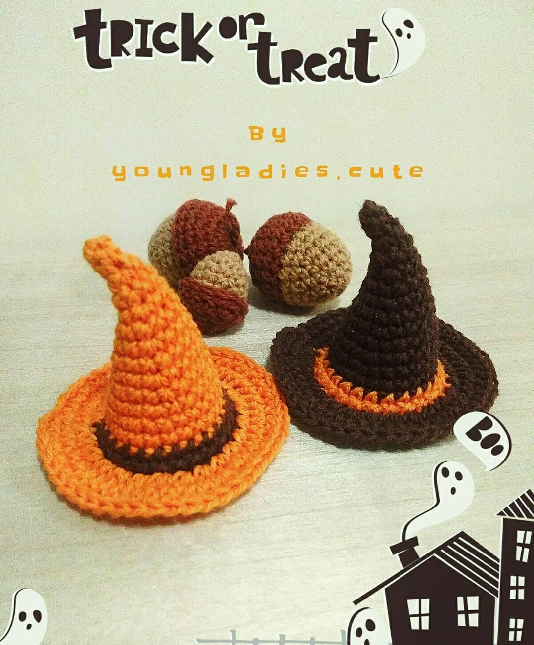 Free Halloween Crochet Pattern For A Witch Hat Crochet Kingdom