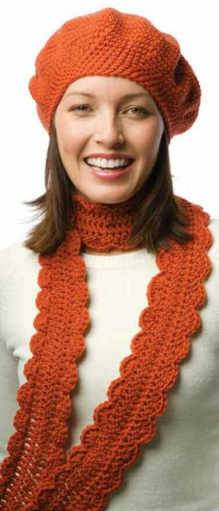 Free Crochet Hat And Scarf Set Knitting Patterns Archives Crochet