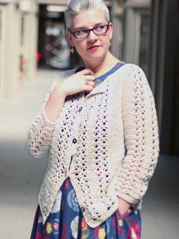 Free Crochet Pattern for a Cardigan - Imogen