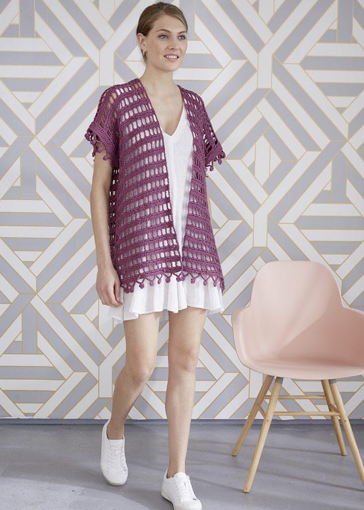 Free Crochet Pattern for an Easy Vest