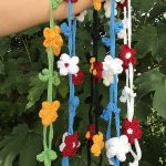 Free Crochet Pattern for a Flower Chain