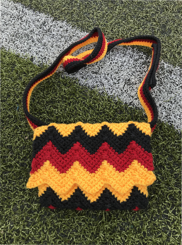 Free Crochet Pattern for a Belt Bag