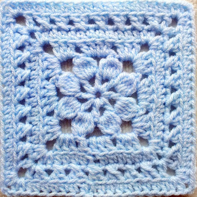 Walled Garden Free Square Crochet Pattern