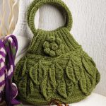 Crochet Leaf Bag Pattern