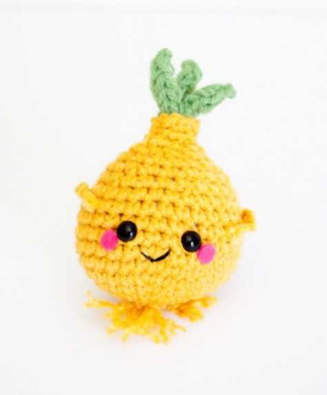 Crochet Onion Amigurumi Pattern