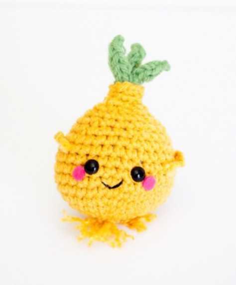 Crochet Onion Amigurumi Pattern