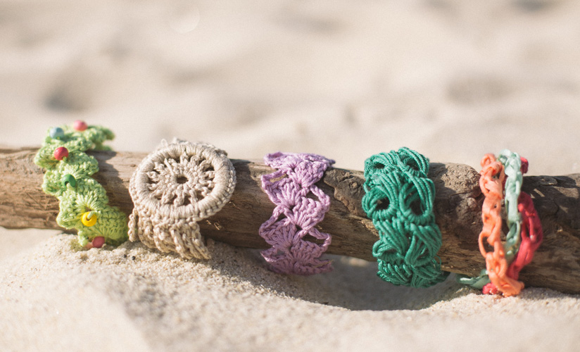 Free Crochet Pattern for Ladies Bracelets