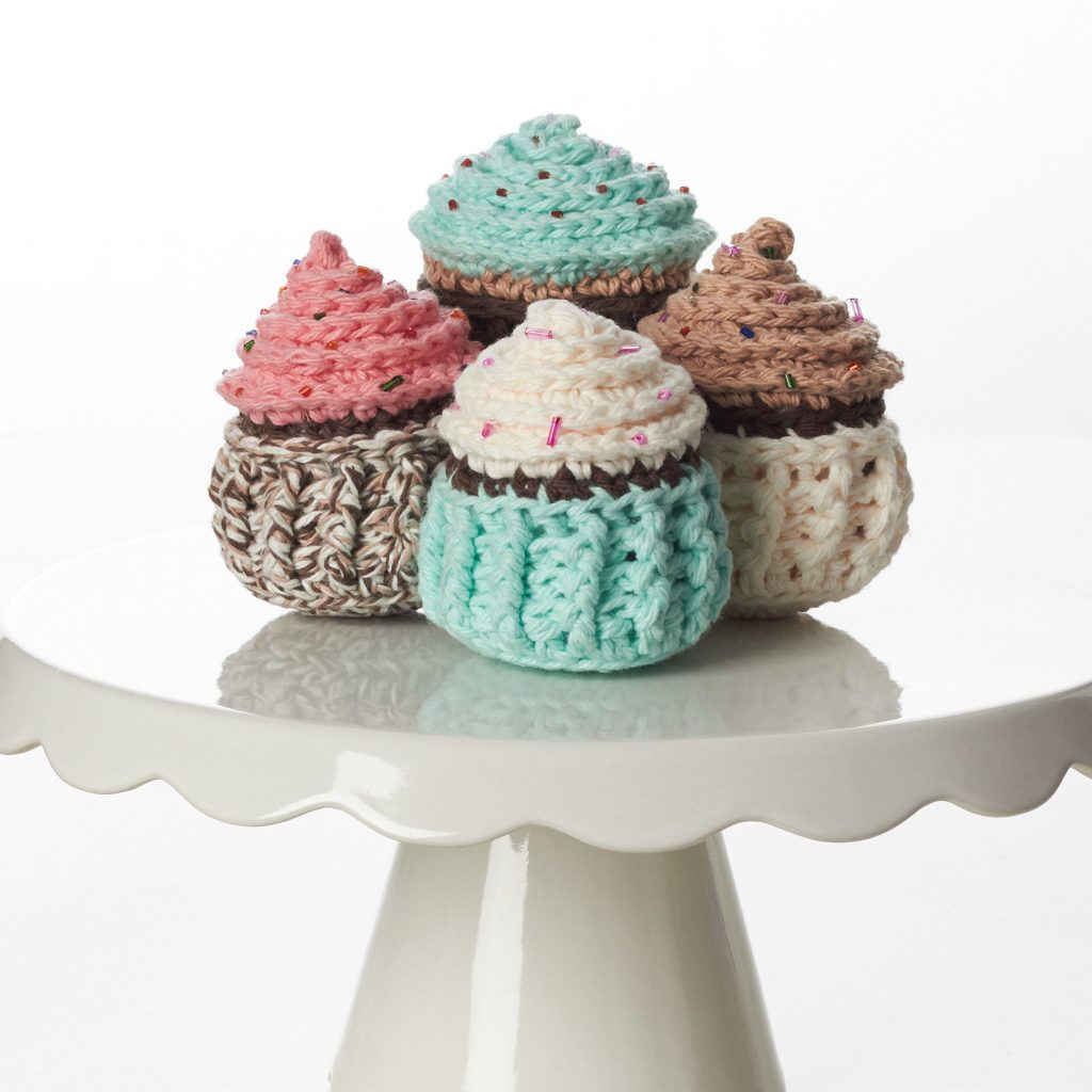Free Crochet Pattern for Let Them Eat Cupcakes