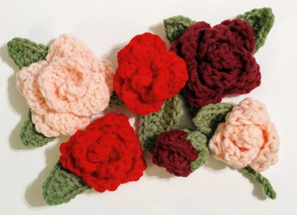 Free Crochet Pattern for Roses