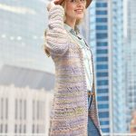 Free Crochet Pattern for a Around-Town Cardigan