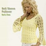 Free Crochet Pattern for a Bell Sleeve Pullover