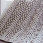 Free Crochet Pattern for a Chunky Bobbled Blanket