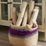 Free Crochet Pattern for a Handy Storage Basket