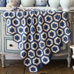 Free Crochet Pattern for a Hexagon Granny Blanket