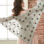 Free Crochet Pattern for a Promenade Shawl