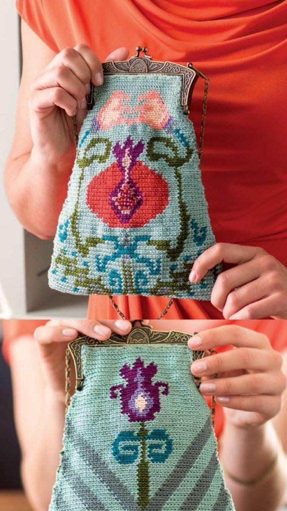 Free Crochet Pattern for a Purse of Prosperity 1