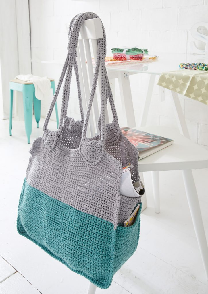 Free Crochet Pattern for a Room Bag