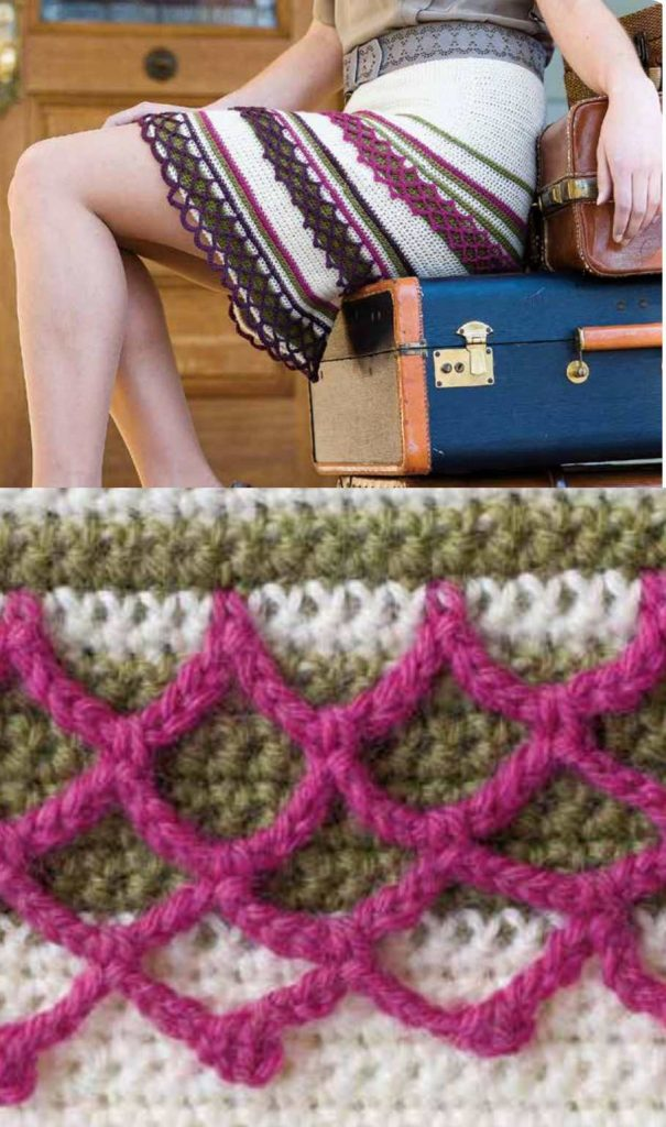 Free Crochet Pattern for a Swannanoa Skirt