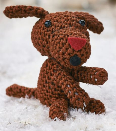 Free Crochet Amigurumi Pattern Floyd the Singing Dog