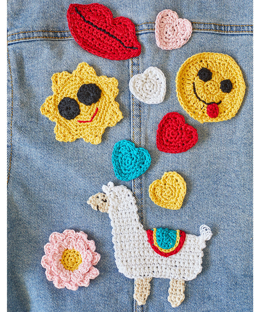 Free Crochet Pattern for Cute and Modern Applique