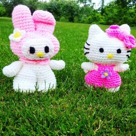Free Crochet Pattern for My Melody Amigurumi Pattern