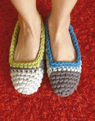 Free Crochet Pattern for Slippers
