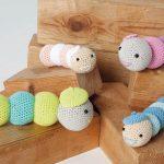 Free Crochet Pattern for a Caterpillar Amigurumi