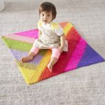 Free Crochet Pattern for a Granny Triangles Afghan