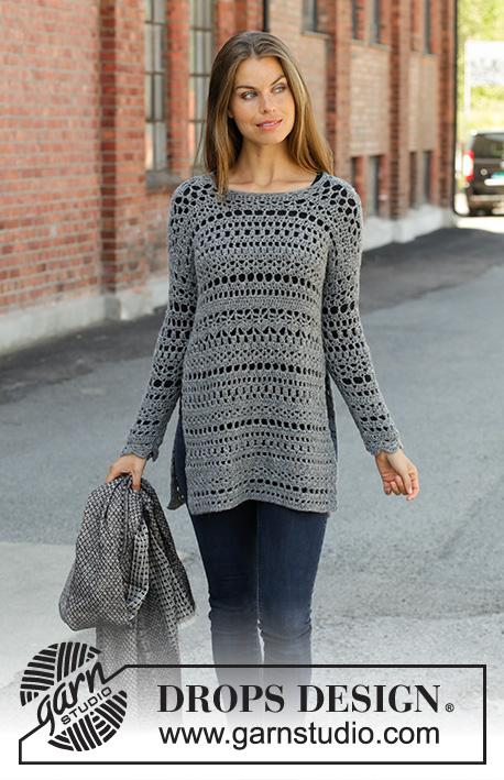 552f964ca82e3b Free Crochet Pattern for a Sweater Grey Sparrow ⋆ Crochet Kingdom