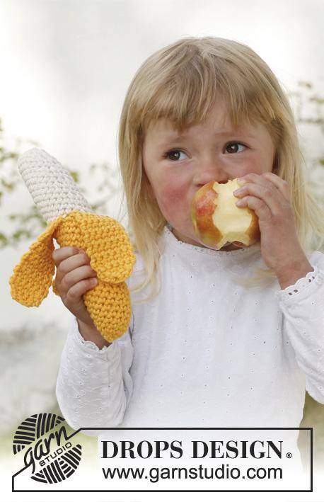 Free crochet pattern for a banana