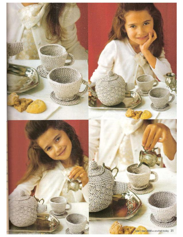 Crochet Tea Play Set Archives Crochet Kingdom 1 Free Crochet