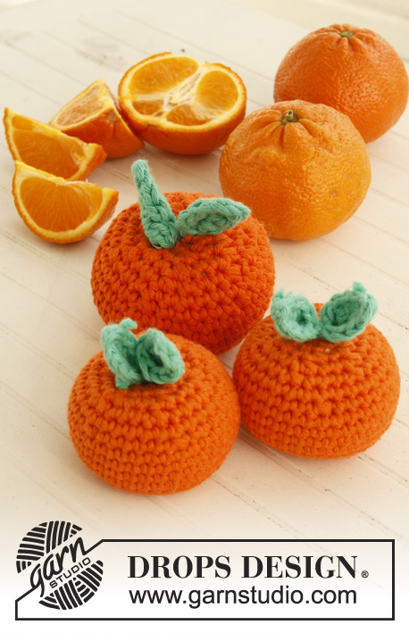 free crochet pattern for oranges