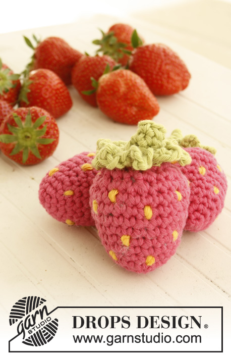 free crochet pattern for strawberries