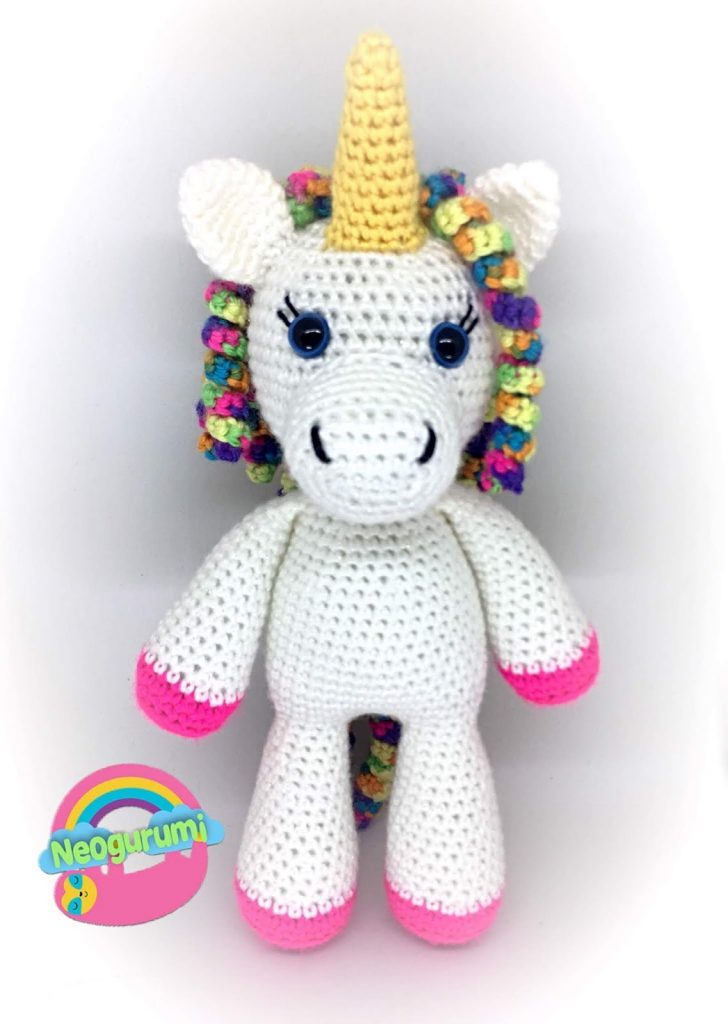 Free Crochet Pattern for Twinkle the Unicorn