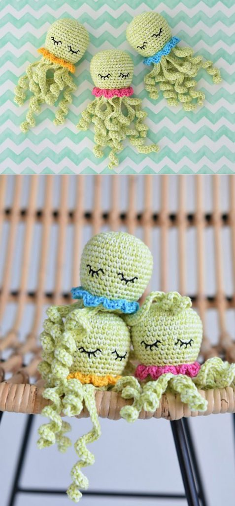 Make an amigurumi octopus with this simple free pattern! Thanks so ... | 1024x477