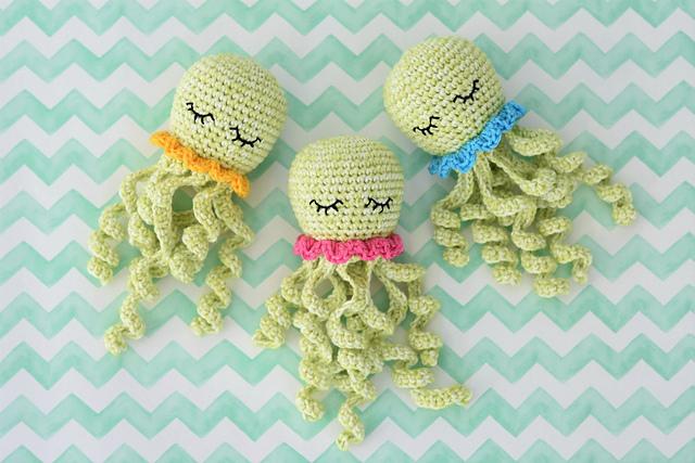 Free Crochet Pattern for Amigurumi Octopus