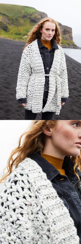 Free Crochet Pattern for a Carina Cardigan