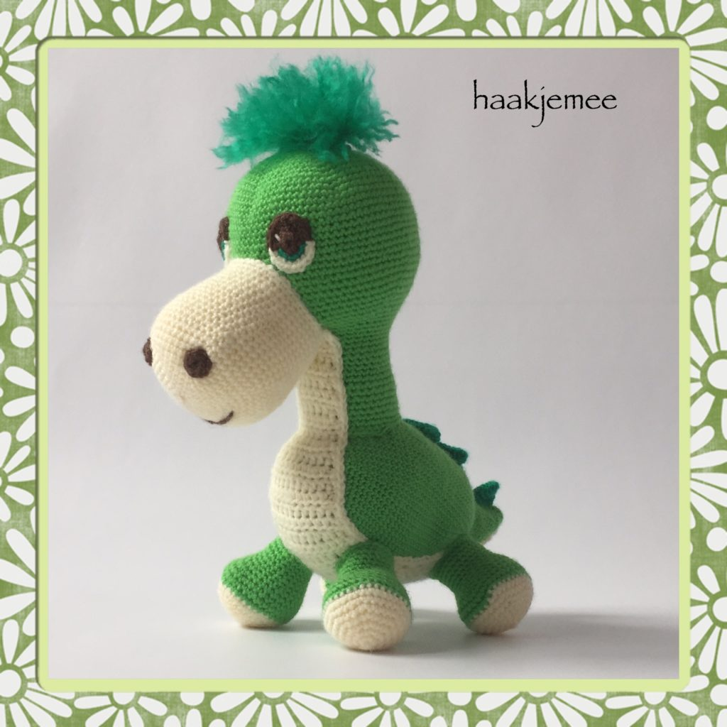 15 Free Crochet Dinosaur Patterns – A Cute Toy - A More Crafty Life | 1024x1024
