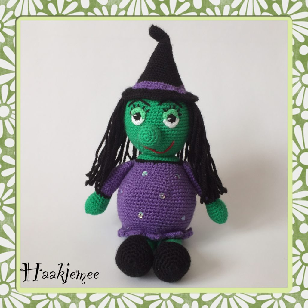 Free Crochet Pattern for a Witch