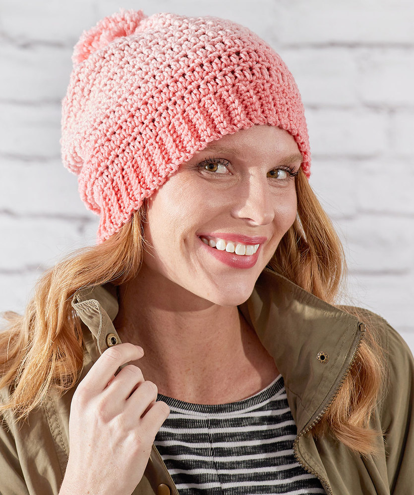 Free Crochet Pattern for an Ombre Hat
