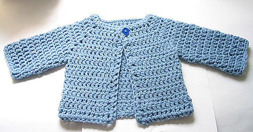 Baby Sweater to crochet for free