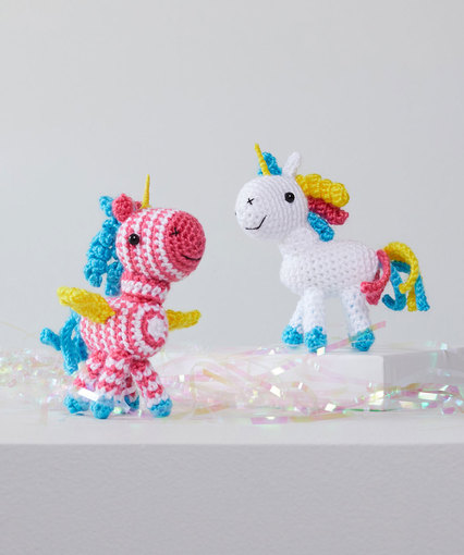 Baby Unicorn Free Amigurumi Pattern & Video Tutorial - Sueños ... | 510x426