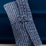 Free Crochet Pattern for a Cotton Clutch
