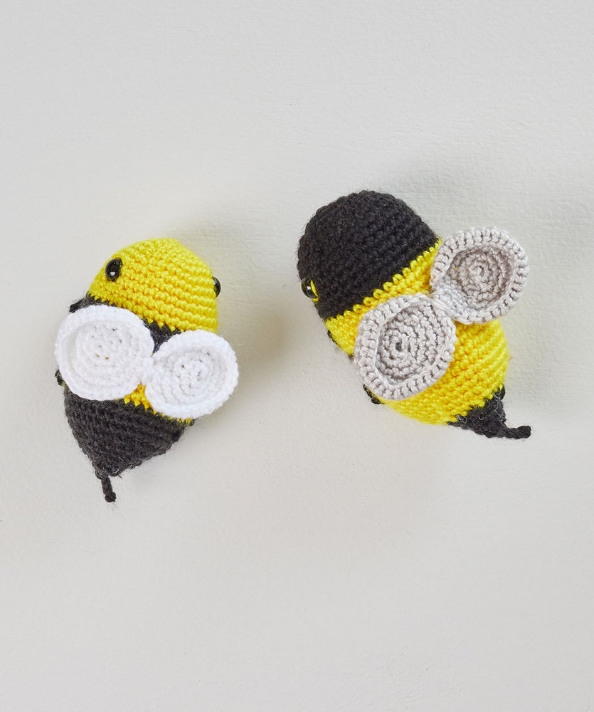 Free Knitting Pattern for a Bumblebee